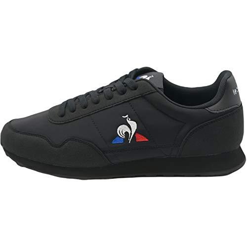 Le Coq Sportif Astra Sport, Zapatillas Deportivas Unisex Adulto, Triple Black, 45 EU