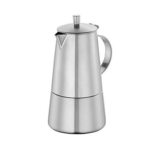 Cilio Modena Espressokocher, Edelstahl, 4 Tassen