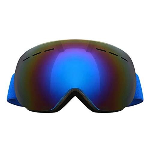 ZPEE Skibrillen Skibrille Doppel UV400 Ski-Maske Brille Ski Männer und Frauen Snowboardbrillen, eine Vielzahl von Optionen Schneesportbrille (Color : E)