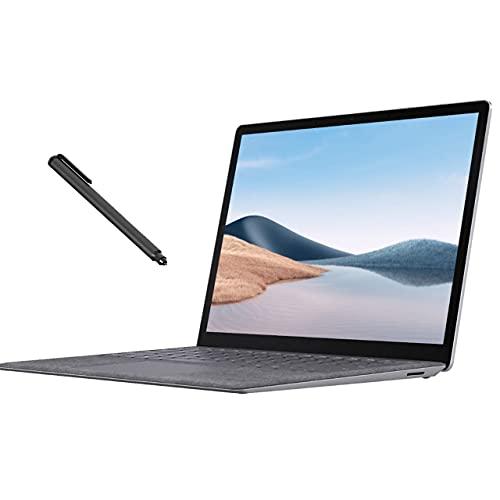 Surface laptop 4 13. 5' touchscreen laptop platinum, amd 6-core ryzen 5 4680u (beat i7-1065g7), 8gb ram, 256gb ssd, backlit, usb-c, wi-fi 6, mytrix digital pen