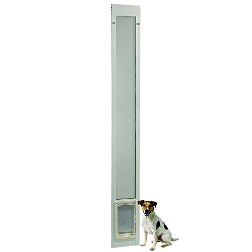 Fast Fit Pet Patio Door 96' Medium (White)