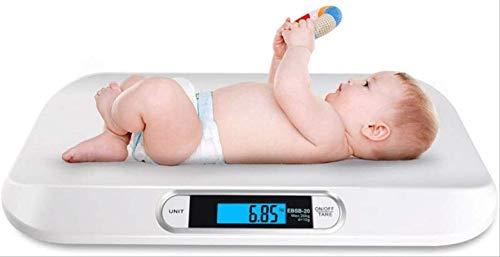 Peso Corporal Digital Plano Digital hasta 20 Kg Peso Corporal Digital Báscula De Enfermería Digital Báscula Digital De Peso Corporal Báscula Infantil para Bebé Báscula Casera
