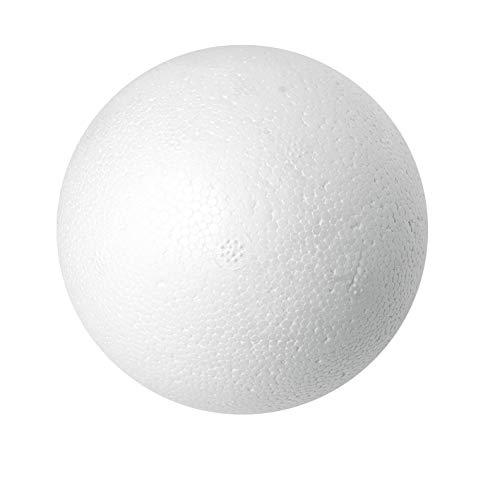 Boule polystyrène, Ø 10 cm