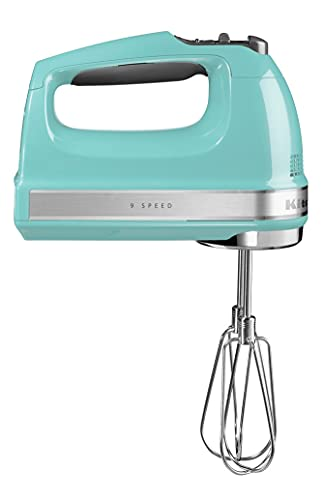 KitchenAid SBATTITORE ELETTRICO 9 VELOCITÀ - ARTISAN 5KHM9212 - Hand Mixer 9 Speeds - AQUA SKY