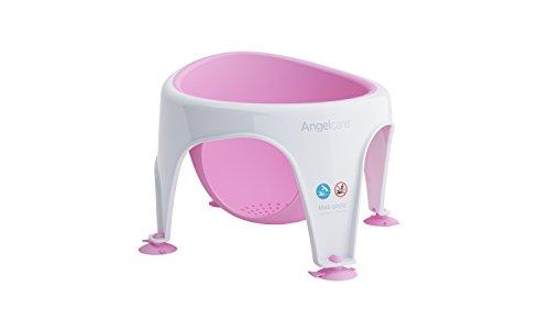 Angelcare Soft Touch Bad Sitz (Aqua)–Rose