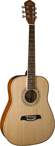 Oscar Schmidt OG1 Left-Handed 3/4-Size Acoustic Guitar - Natural