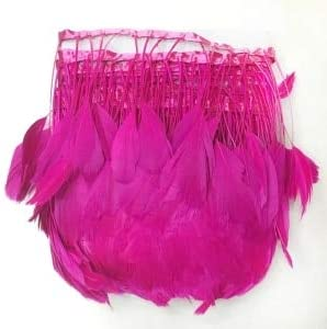 Bombing free shipping Xucus 5yards lot Beautiful Handwork Color St Max 81% OFF Feather Multi Geese