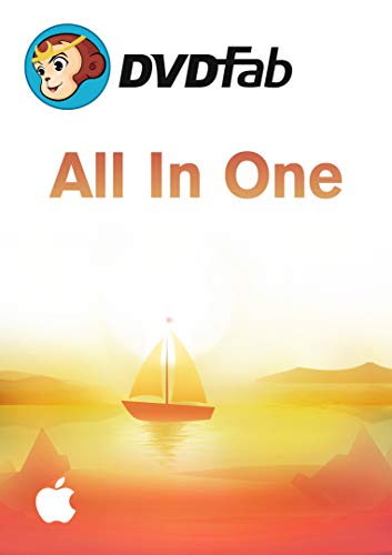 DVDFab All-in-one Suite MAC-Lifetime Lizenz (Product Keycard ohne Datenträger)