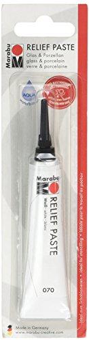 Marabu 07020ml Relief Paste Farbe, weiß