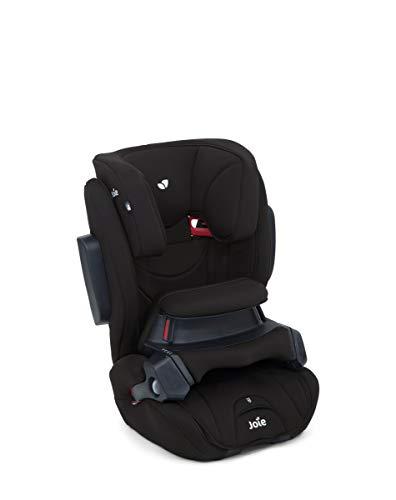 Set Bezug für Kinderautositz Joie Traver Shield & Stoffwindel | Schonbezug für Joie Kindersitz & Fangkörper | Ersatzbezug Autokindersitz Joie Traver Shield, Design:coal