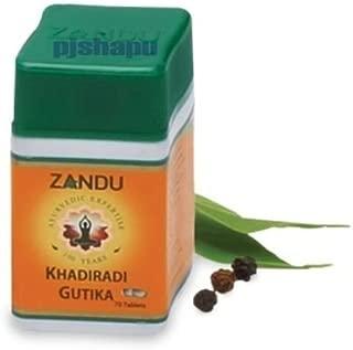 5 x Zandu Khadiradi Gutika 70 tabs