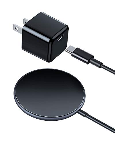 Magnetic Wireless Charger WEMISS iPhone 12 Charger for MagSafe Charger with 20W USB C Fast Charger Compatible with iPhone 12/12 Mini/12 Pro/12 Pro Max/AirPods Pro, Samsung Galaxy S20/Note 10/S10/S9