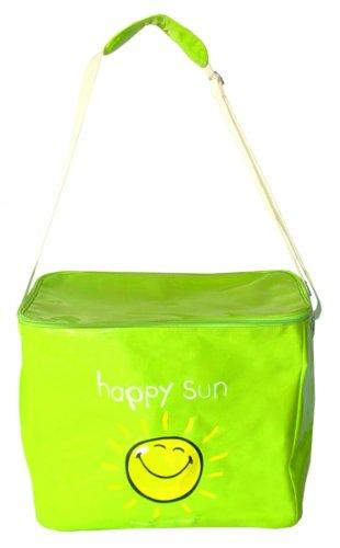 Kühltasche - Einkaufstasche - Strandtasche Smiley - Happy Sun