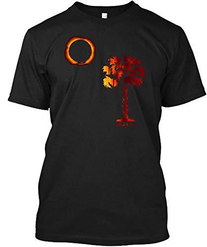 South Carolina Solar Eclipse 2017 T-Shirts for Women Men Girl Boys Cute