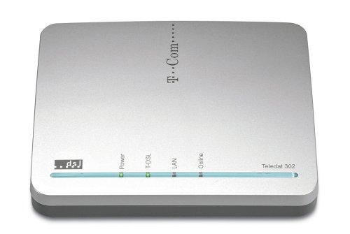 T-Com Teledat 302 T-DSL Modem mit Ethernet Schnittstelle