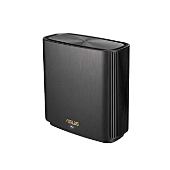 ASUS ZenWiFi AX6600 Tri-Band Mesh WiFi 6 System  XT8 1PK  - Whole Home Coverage up to 2750 sq.ft & 4+ rooms AiMesh Included Lifetime Internet Security Easy Setup 3 SSID Parental Control White