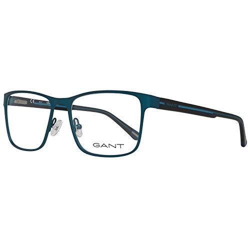 GANT GA3152 55091 Gant Brille GA3152 091 55 Rechteckig Brillengestelle 55, Blau