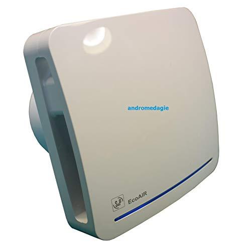 Posaclima Purevent HR - Extractor centrífugo para baños con humedad