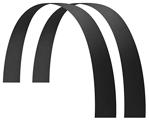 Husky Liners 17051 Long John Flares 6IN Wide Fits 65IN Length - Universal, Black