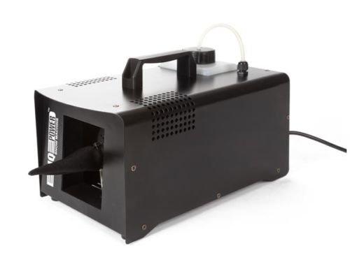 HQ Máquina a Nieve Artificial Potencia 800W Compact Metal Negro con Mando a Distancia