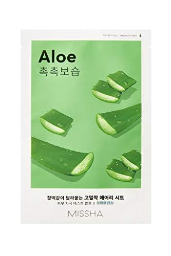 MISSHA Pure Source Cell Sheet Mask Aloe Vera Gesichtsmaske gesichtsmaske Korean Kosmetik 10 pcs
