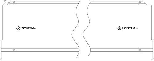 Preisvergleich Produktbild SOCKELBLENDE H16 1000 MM 12094224