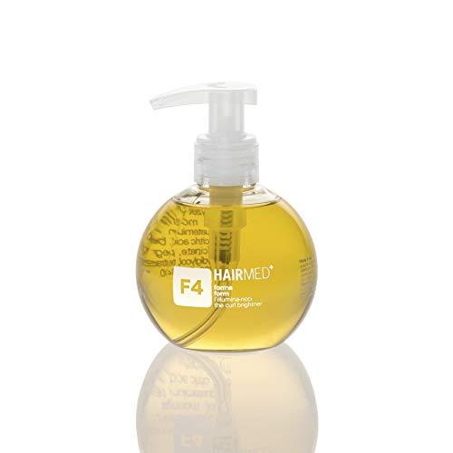 HAIRMED - F4 Siero per Styling Capelli Ricci - Fluido Anticrespo Professionale - 200 ml