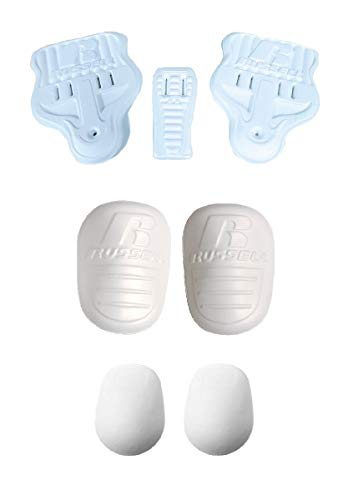 Martin/Russell Athletic Football Adult Men's 7-Piece Pad Set - (2) Thigh Pads, (2) Knee Pads, (2) Hip Pads and (1) Tail Pad