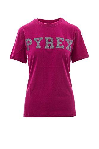 Pyrex 33507 T-Shirt, Rosa (Fuxia), Small (Taglia Produttore:S) Donna