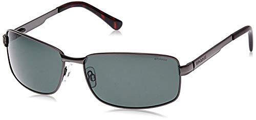 Polaroid Herren P4416 Rc A3X 63 Sonnenbrille, Grau (Grey)