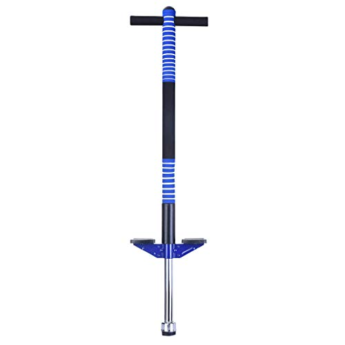 shamoluotuo Pogo Stick for Kids Boys & Girls - Fun Quality Pogostick Awesome Fun Quality Pogo Stick Stilts for Boys & Girls Best Gifts for Kids (Blue, Ages 5 & Up, 33 to 77 Lbs)