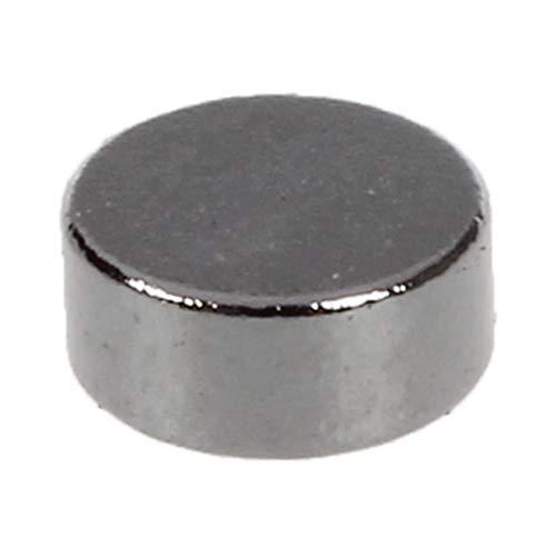 Iycorish Silber-Ton 4 mm x 2 mm Seltene Erden Neodym-Magnet Starke 10 Stueck