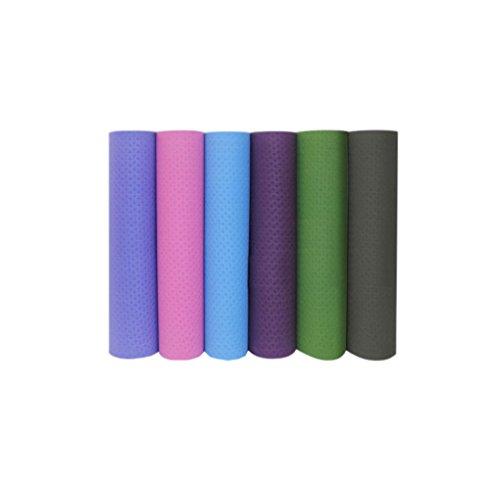 ENOCHX Singolo Strato Di Tpe Insapore Ambientale Yoga Tappetino Antiscivolo Morbido, Long-Sleeved Fino A Cuscino, 8 mm Di Spessore