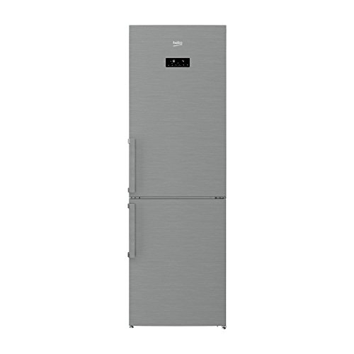 Beko RCNA320E21X Independiente 287L A+ Acero inoxidable nevera y conge