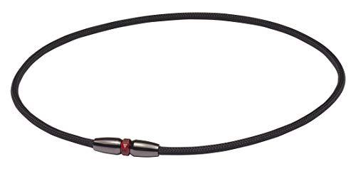 ファイテン(phiten) ネックレス RAKUWAネック EXTREME ローレット ブラック 50cm