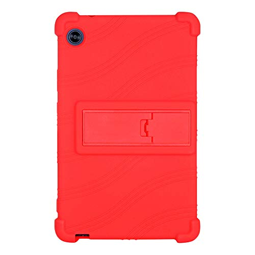 Runxingfu Impact Resistant Stand Silicone Soft Skin Shockproof Protective Cover Case for Huawei C3 2020 BZD-W00/AL00 8.0 inch Tablet