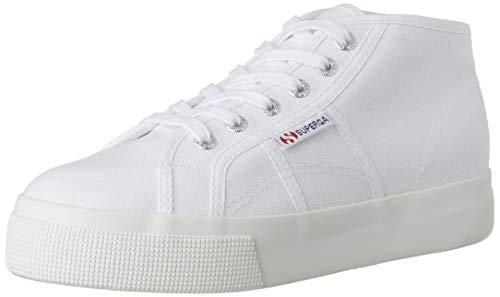 SUPERGA 2578-cotu, Scarpe da Ginnastica Unisex-Adulto, Bianco (White 901), 42 EU