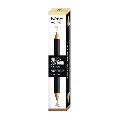 NYX PROFESSIONAL MAKEUP Micro-Contour Duo Pencil, Light