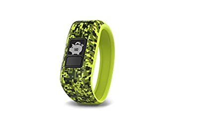 Garmin vívofit jr, Kids Fitness/Activity Tracker, 1year Battery Life, Green, Digi Camo