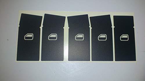 Fensterheber Tasten Restaurations Set A2,A3,A4,A6 Aud