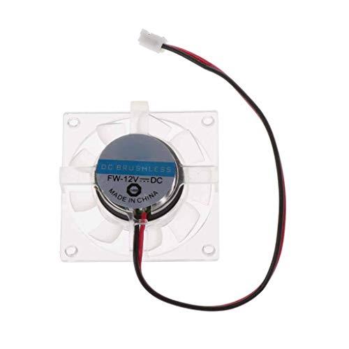 Jiamins Ventilatore Scheda Grafica, Scheda Grafica VGA CPU radiatore di Raffreddamento Ventola di Raffreddamento Lunghezza di Lato di 4cm, Bordo