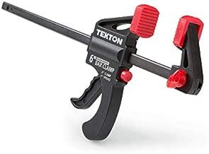 TEKTON 6 Inch Ratchet Bar Clamp / 9 Inch Spreader | 39180
