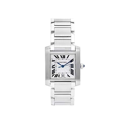 Cartier Tank Francaise Automatic-Self-Wind 2302 - Reloj de Pulsera para Hombre (Certificado prepropietario)