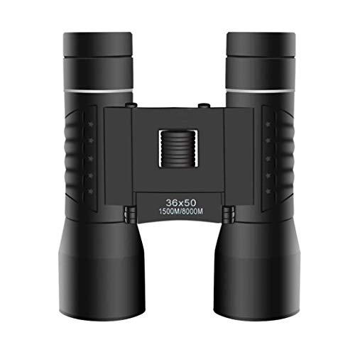 ZTYD 36X50 Opvouwbare Compacte verrekijker voor Volwassenen Kinderen, 12x HD Fmcbak-4 Prisms Waterdicht Duurzaam Verrekijker voor Vogelspotten Jagen