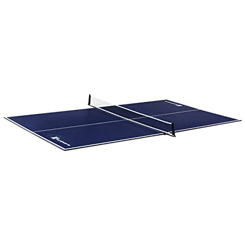 MD Sports Table Tennis Conversion Top, Blue/White, 108''