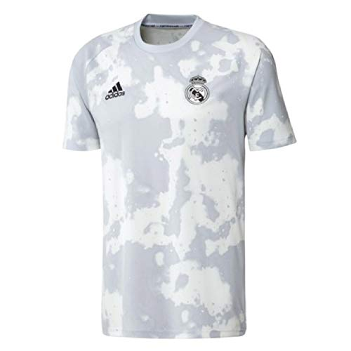 adidas 2019-20 Real Madrid Pre-Match Jersey - Grey-White L