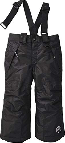 Crivit Sports LUPILU® Kinder Jungen Skihose mit Hosenträger (Gr. 86/92 - ca. 12-24 Monate, schwarz)