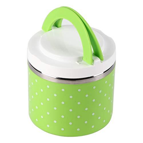 Lunch Box - Contenitore per alimenti Thermo Thermal Lunch Box con isolamento in acciaio inossidabile a 1 strato caldo