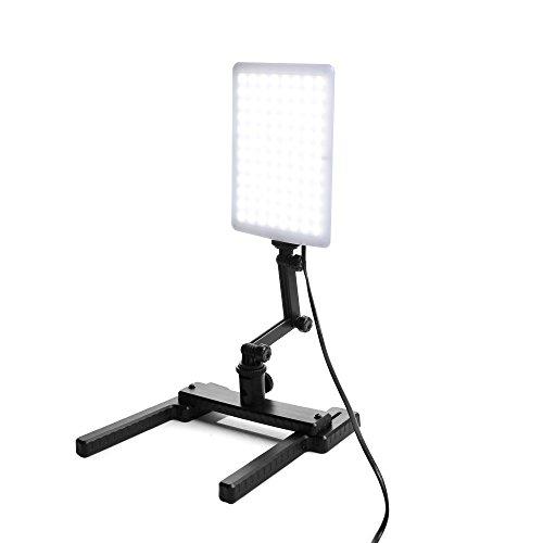 Ruili 96 LED Videoleuchte Studio-licht Video Lampe Mit Verstellbare Arm & Haltewinkel-Stand Kit für Digitalkameras