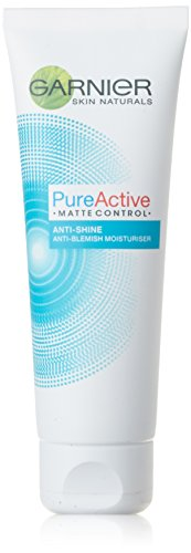 Garnier Pure Active Matte Control Anti Blemish Face Moisturiser, for Oily and Combination Skin,...